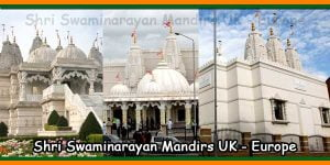 Shri Swaminarayan Mandirs UK - Europe