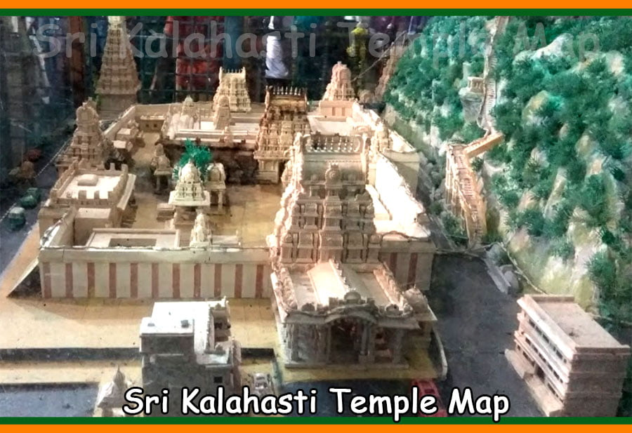 Sri Kalahasti Temple rout Map Details