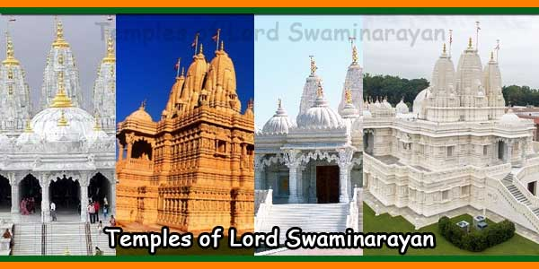 Temples of Lord Swaminarayan