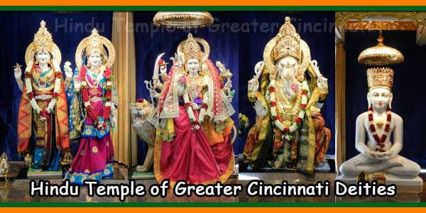 Hindu Temple of Greater Cincinnati Deities