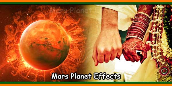 Mars Planet Effects