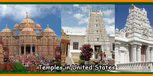 List of Hindu temples in the United States of America