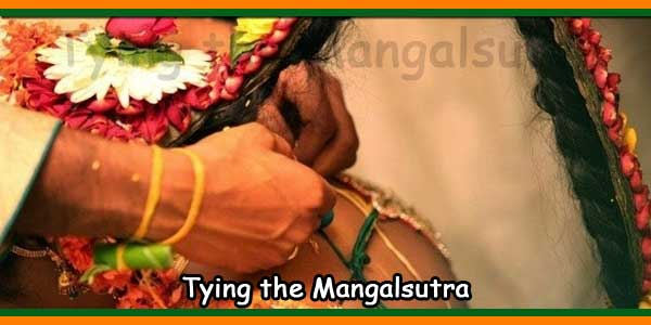 Tying the Mangalsutra