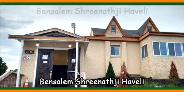 Bensalem Shreenathji Haveli