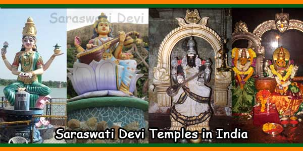 Saraswati Devi Temples in India