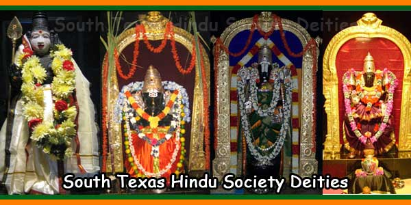 South Texas Hindu Society Deities
