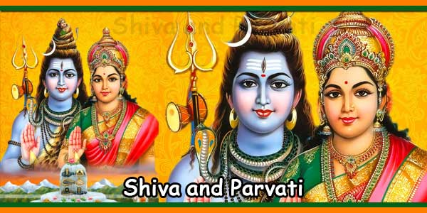 Lord Shiva and Parvati Devi