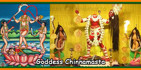 Goddess Chinnamasta